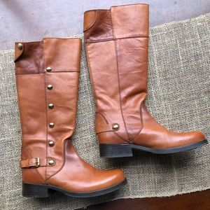 Steve Madden Leather Olster Boot Size 8